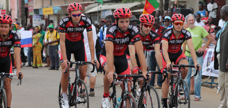 Tour du Burkina – 3è étape : Le Marocain Mouhcine Lahssaini conserve le maillot jaune