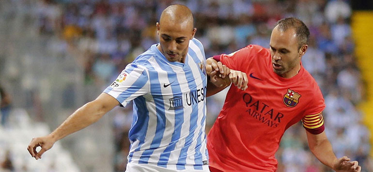 Championnat d'Espagne: Amrabat reprend l'entraînement avec le FC Malaga