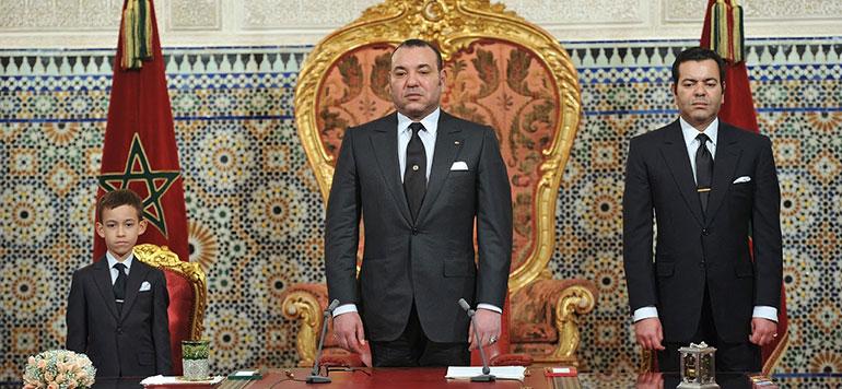 Vidéo : L'arrivée du Roi Mohammed VI à laâyoune