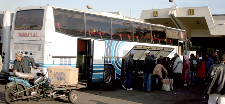 Casablanca/Aid Al-Adha : Mesures exceptionnelles en vue de la forte pression sur les autocars