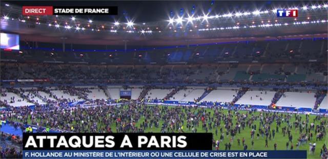 Vidéo : Plusieurs explosions près du Stade de France