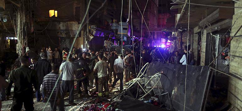 37 morts et une centaine de blessés dans un double attentat à Beyrouth