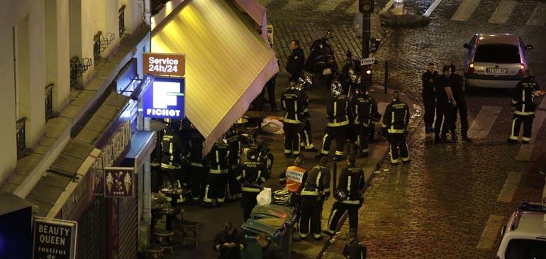 Vidéo : une soirée meurtrière dans la capitale parisienne