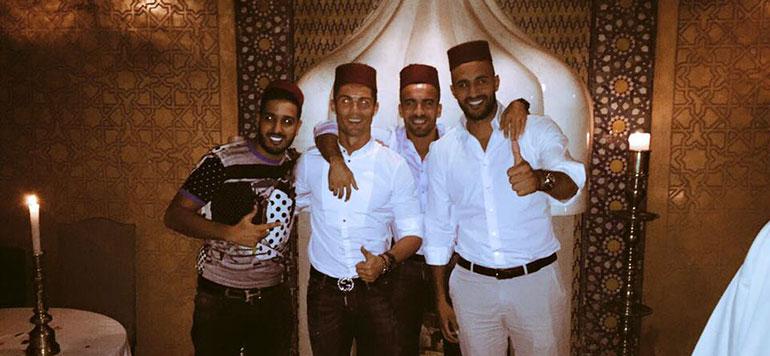 Badr Hari :  Ronaldo est tombé sous le charme du Maroc