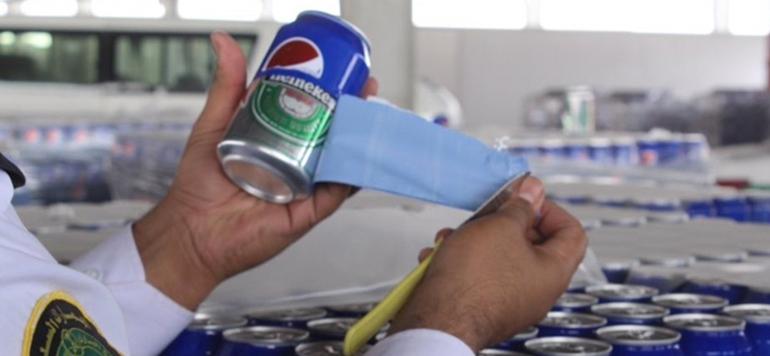 Arabie Saoudite : La douane démasque 48 000 canettes de bière déguisées en Pepsi !!!