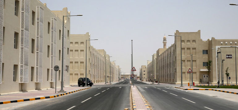Inauguration de la plus grande cité-dortoir du Qatar en vue du Mondial-2022