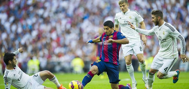Vidéo : le Barça de Suarez humilie le Real chez lui 4-0