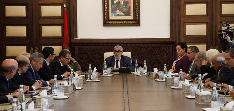 Conseil de gouvernement : Adoption d'un projet de décret relatif au Code des douanes et impôts indirects