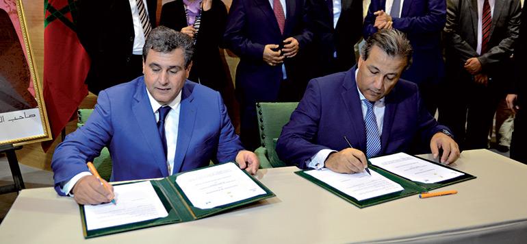Une convention entre Crédit Agricole du Maroc et le ministère de l'agriculture
