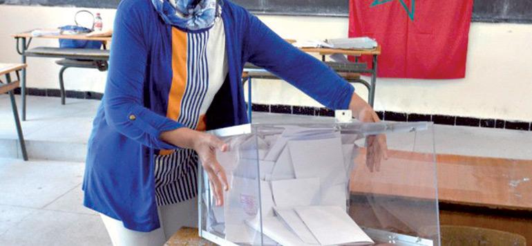 Législatives 2016 : à Rabat, les opérations de vote se poursuivent dans des conditions normales