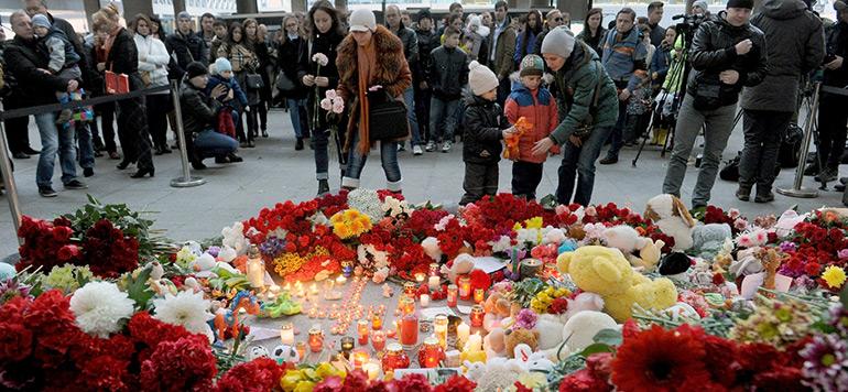 La Russie enterre ses premières victimes du crash de l'Airbus A321