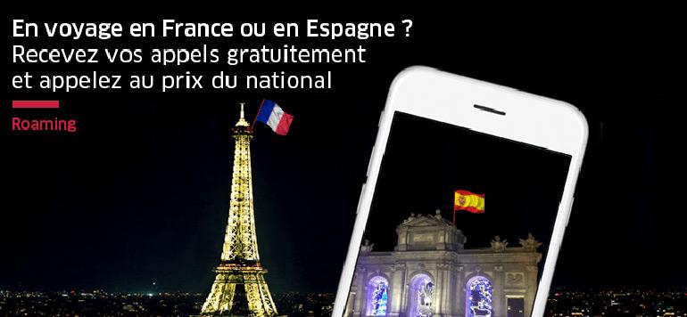 Méditel lance le rooming gratuit en France et en Espagne