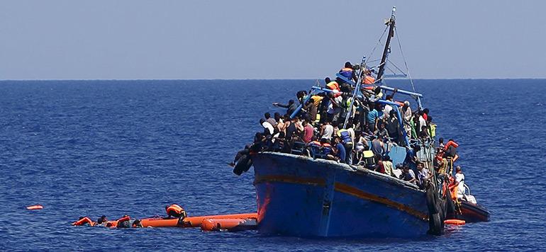 Des bateaux interceptés