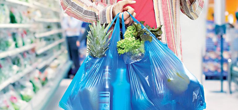 Plus de sacs en plastique à compter du 1er juillet 2016 !