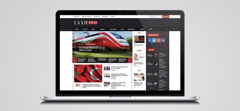 Un nouveau site web pour «La Vie éco»