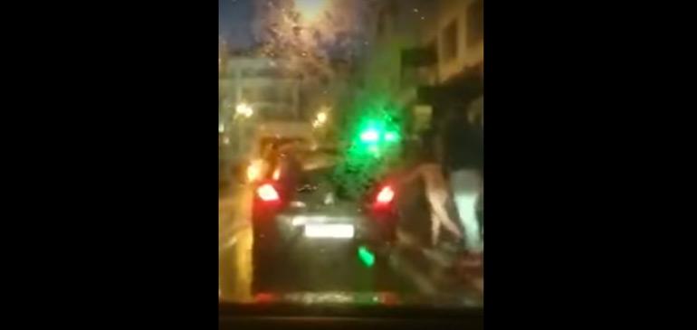 Tanger : une jeune femme nue jetée violemment en dehors d'une voiture