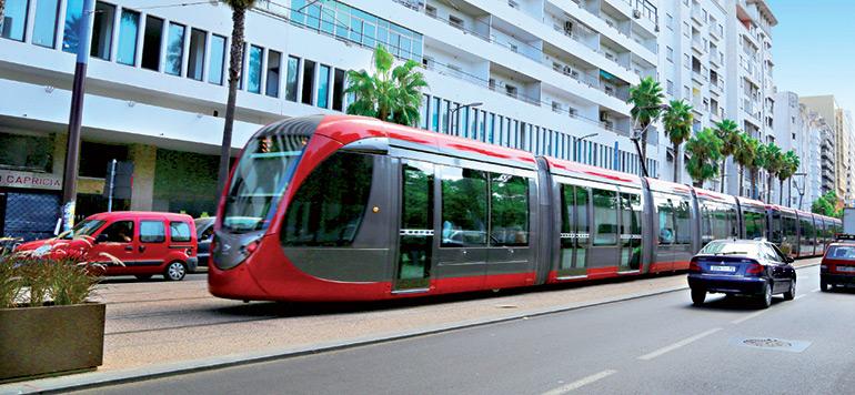 Lancement des essais de la ligne T2 du tramway de Casablanca