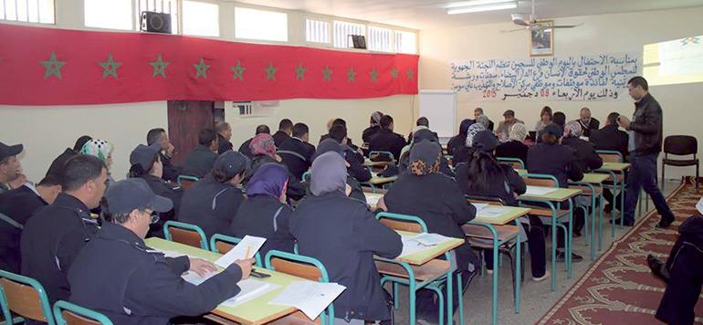 Les droits de l'Homme enseignés au personnel des prisons