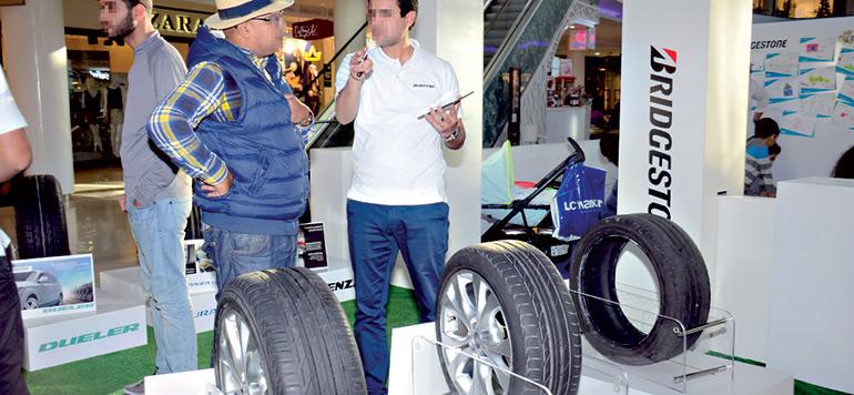 Bridgestone sensibilise les conducteurs à la sécurité