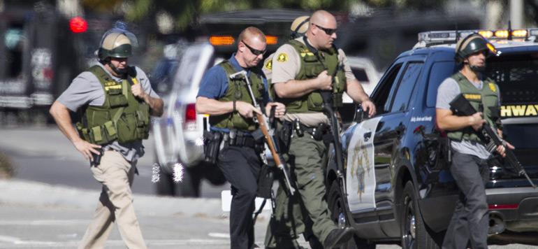 Californie: Au moins 14 morts dans une fusillade à San Bernardino, trois suspects recherchés