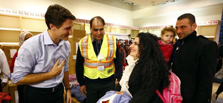 Jusqu'à 50.000 réfugiés syriens devraient être accueillis au Canada d'ici décembre 2016
