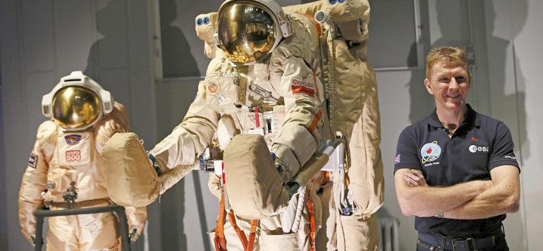 Le Premier astronaute britannique s'apprête à s'envoler vers l'ISS