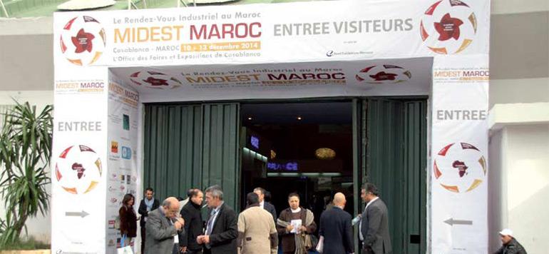 Levée du rideau à Casablanca sur la 5ème édition du salon international «MIDEST Maroc 2015»