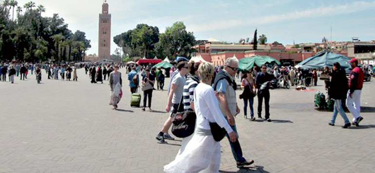 Tourisme : Le Maroc a accueilli 9,5 millions de touristes à fin novembre 2016