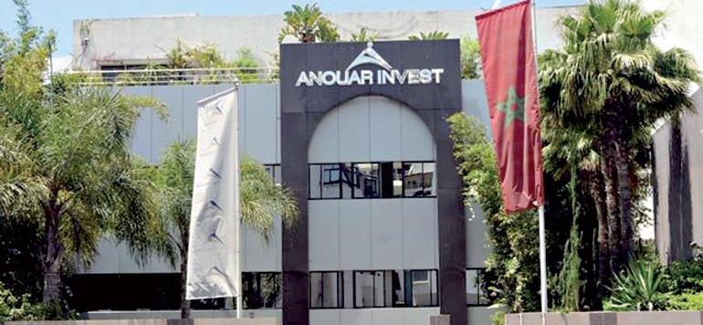Un financement chinois pour Anouar Invest