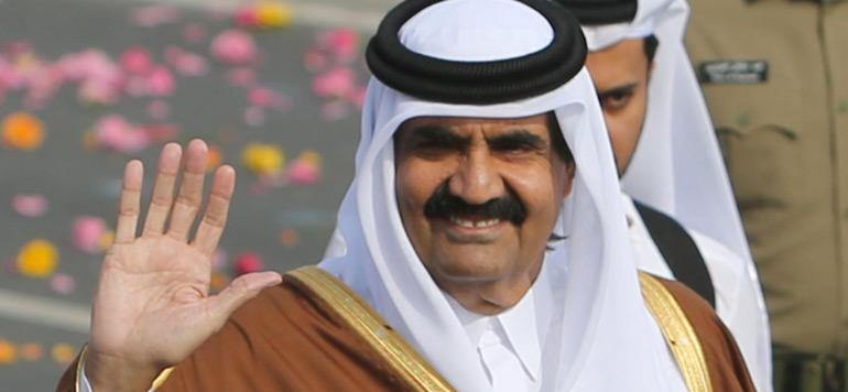L'ancien émir du Qatar va bien après s'est cassé la jambe à Ifrane
