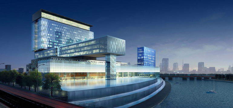 SM le Roi et SA Cheikh Mohamed Ben Zayed Al-Nahyane inaugurent l'hôpital Cleveland «Clinic Abu Dhabi»