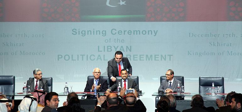 Rabat : Signature d'un accord de réconciliation entre les parties libyennes