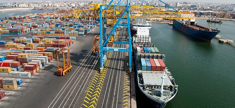 Hausse de près de 8% du commerce extérieur de marchandises en 2017