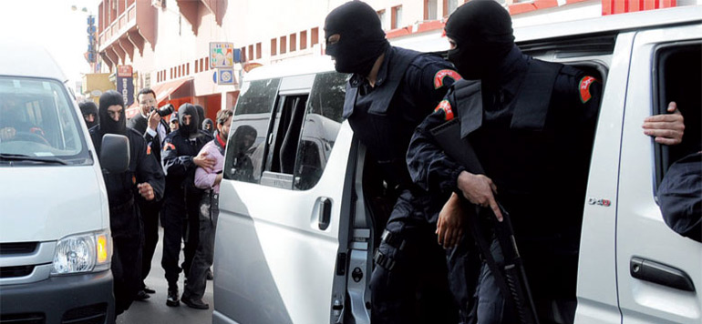 Maroc : Démantèlement d'une cellule terroriste de 7 éléments s'activant à Dar Bouazza