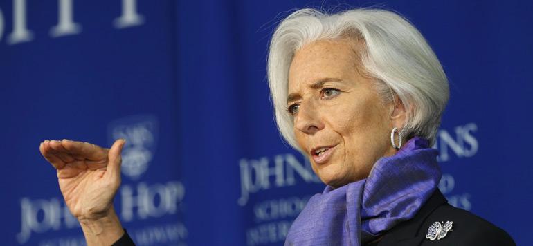 Christine Lagarde confirme sa candidature à un second mandat à la tête du FMI