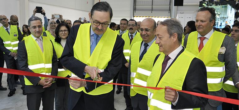 Inauguration à Tanger de l'usine Europac Packaging Med, d'un investissement de 30 millions d'euros