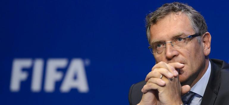 Le numéro deux de la FIFA Jérôme Valcke limogé