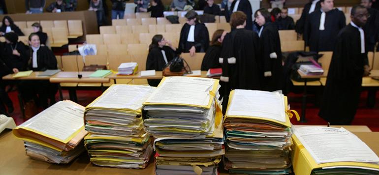Les tribunaux ont jugé 2,6 millions d'affaires à fin novembre