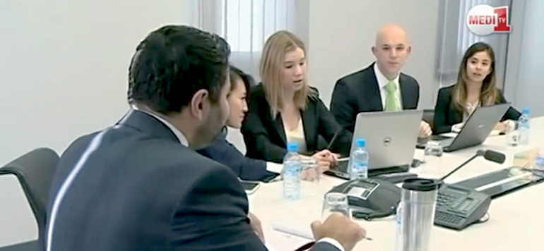 Medi1TV accueille des étudiants d'Harvard Business School