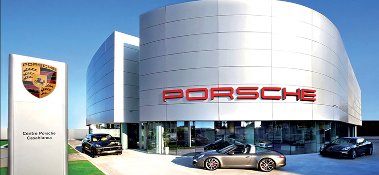 Porsche double ses ventes en 2015