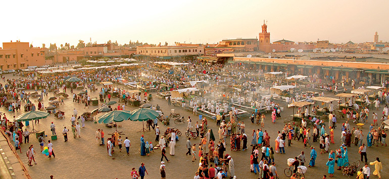 Maroc: Hausse de +9% des arrivées touristiques à fin octobre 2017
