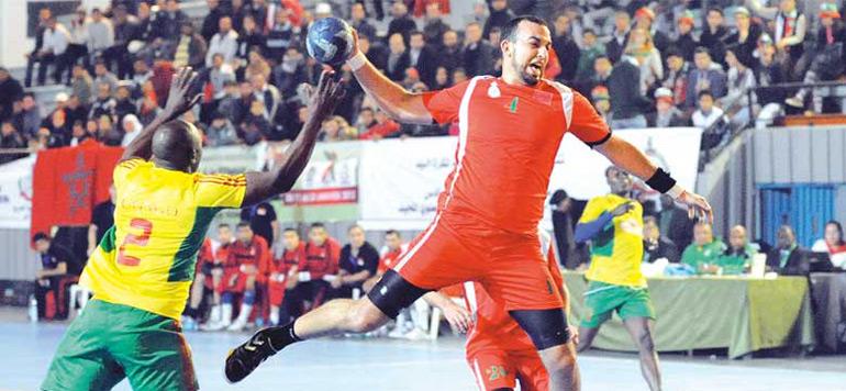 22è CAN de handball: Maroc éliminé en quarts de finale