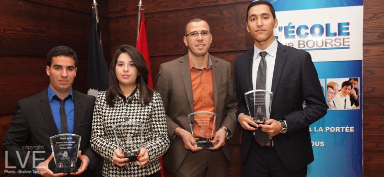 Les Champions de la Bourse : Les lauréats de la 2ème édition primés à Casablanca