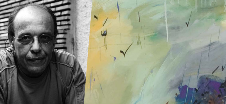 L'artiste-peintre Abdallah Hariri expose ses anciennes œuvres à Casablanca