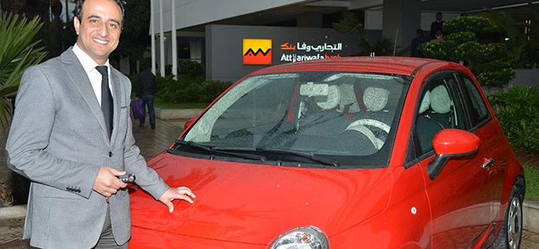 Paiement de la vignette : Attijariwafa bank offre une Fiat 500
