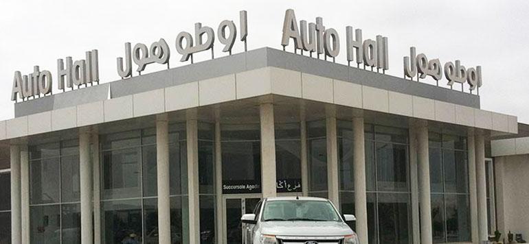 Automobile : bon cru pour Auto Hall au premier semestre