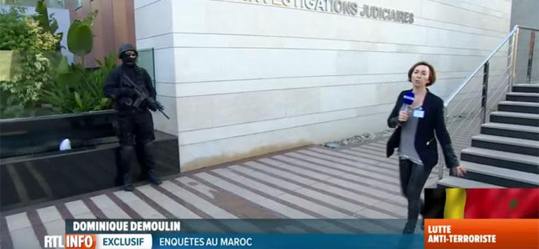 En vidéo : La télévision belge visite le FBI marocain