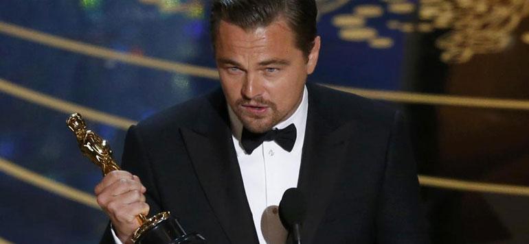 Leonardo DiCaprio remporte l'Oscar du meilleur acteur pour «The Revenant»