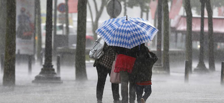 Alerte météo : averses et rafales de vent dans plusieurs régions du Maroc