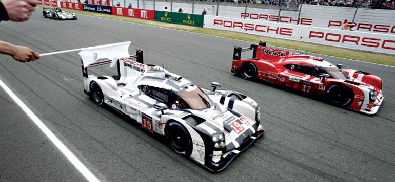 La Porsche 919 Hybrid au Mans